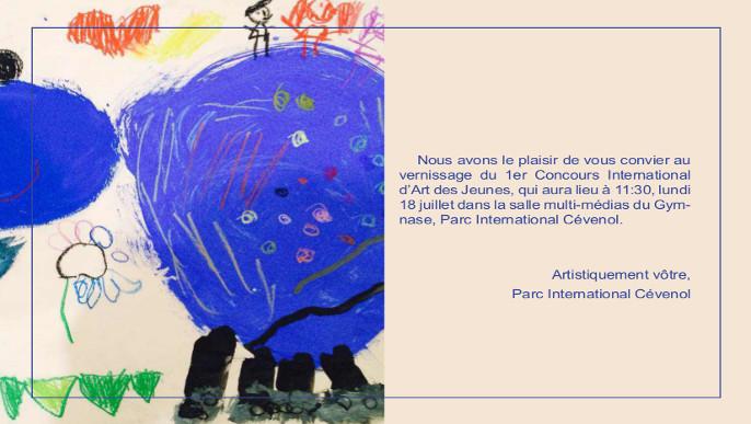 Actualités - 1er Concours international d'art des jeunes