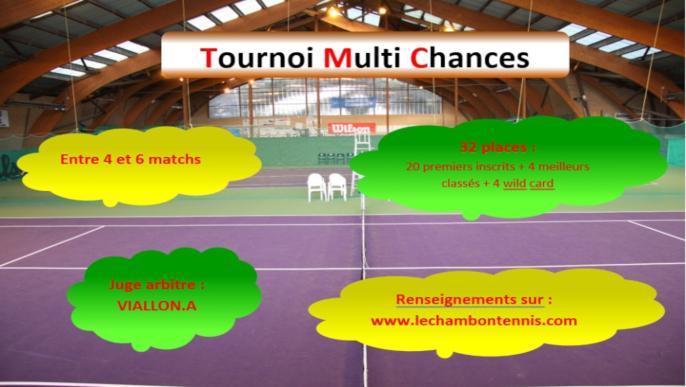 Actualités - Tournoi Multi Chances