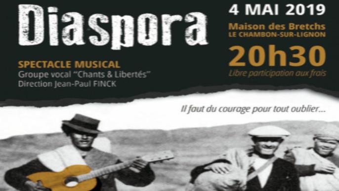 "Actualités - Spectacle musical ""Diaspora"""