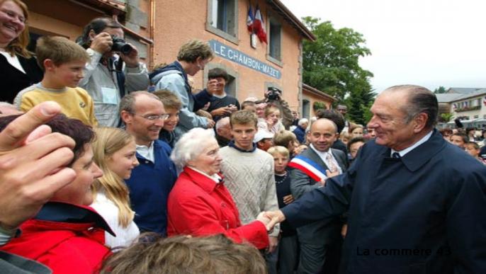 Actualités - Hommage à Jacques CHIRAC