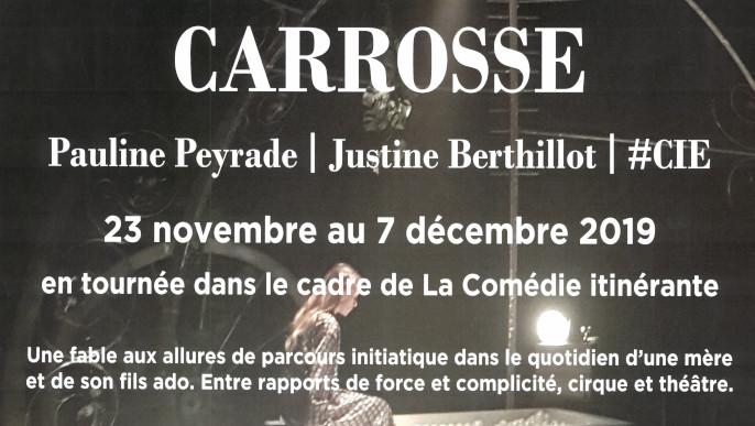 """Actualités - Théatre """"Carrosse"""""""