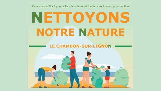 Actualités - Journée nettoyage de la nature