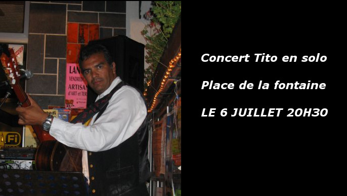 Actualités - Concert en plein air