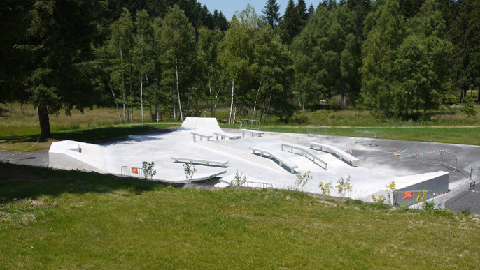 Actualités - Inauguration du skate-park 19 juillet