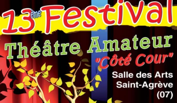 """Actualités - Festival de théâtre """"Coté cour"""""""