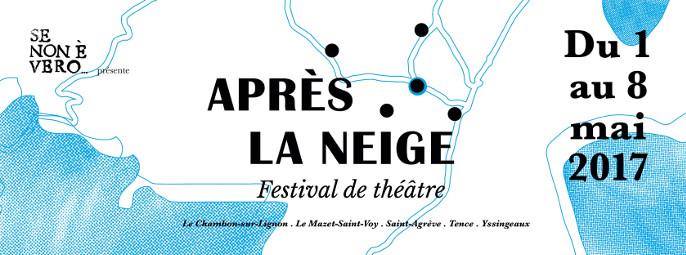 """Actualités - Festival de théâtre """"Aprés la neige"""""""