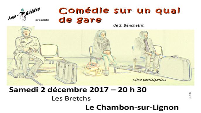 """Actualités - Théâtre: """"Comédie sur un quai de gare"""""""