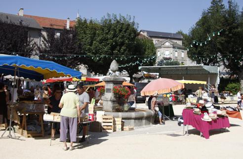 marché du Chambon