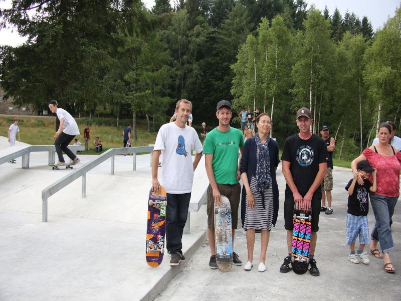 Skate park du chambon