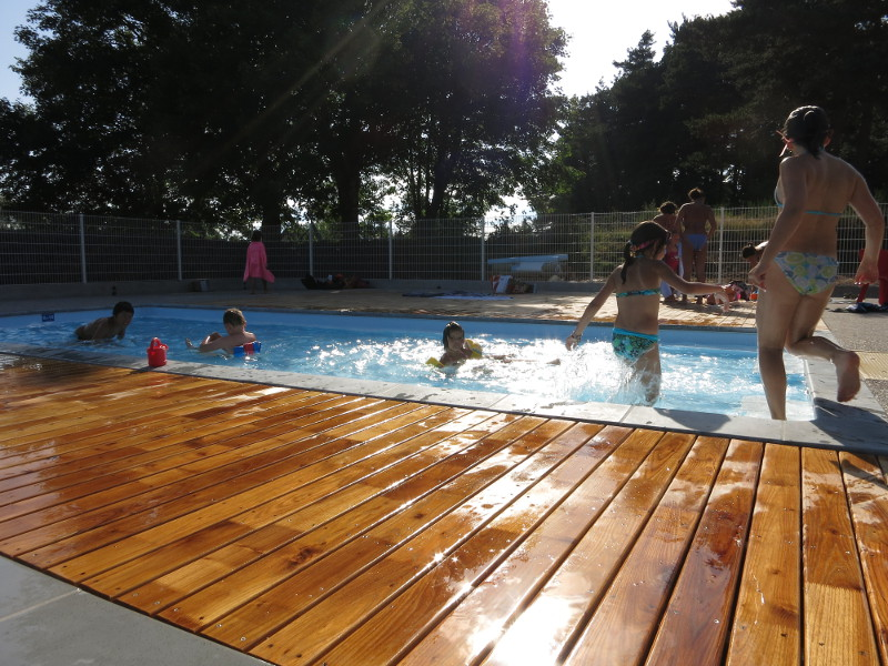 Ouvertue de la piscine du Fraisse