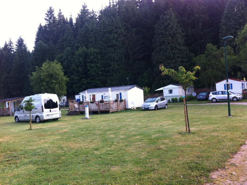 Camping le Lignon - Le terrain